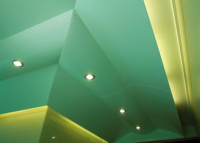 PVDF Coating Exterior Aluminum Ceiling Panels ,  Aluminum Panel Ceiling  Wall Cladding