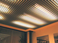 Interior Metal Aluminum Open Cell Ceiling  ,  Exhibition Hall Open Grid Ceiling System