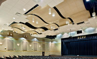 Patterned  Modern Metal Aluminium Ceiling Tiles   Custom Made Acoustically