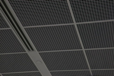 China Station Aluminum Open Cell Ceiling , Aluminium Cell Ceiling For Ventilation System factory