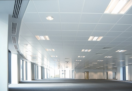 China Suspended  Lay In Ceiling Tile  Aluminum  600x600  Acoustic Performance factory